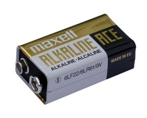 Alkaline 9V PP3 battery