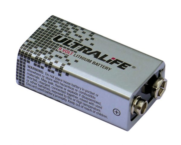 Ultra high capacity 9V PP3 battery