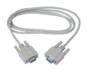 RS232 null modem cable